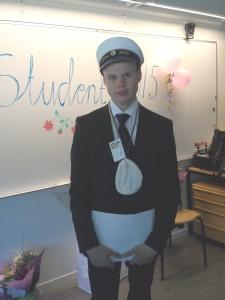 En av årets stipendiater: Tobias Östlund, Kvinnerstaskolan.  Foto Sophie Yttergren, Actíva